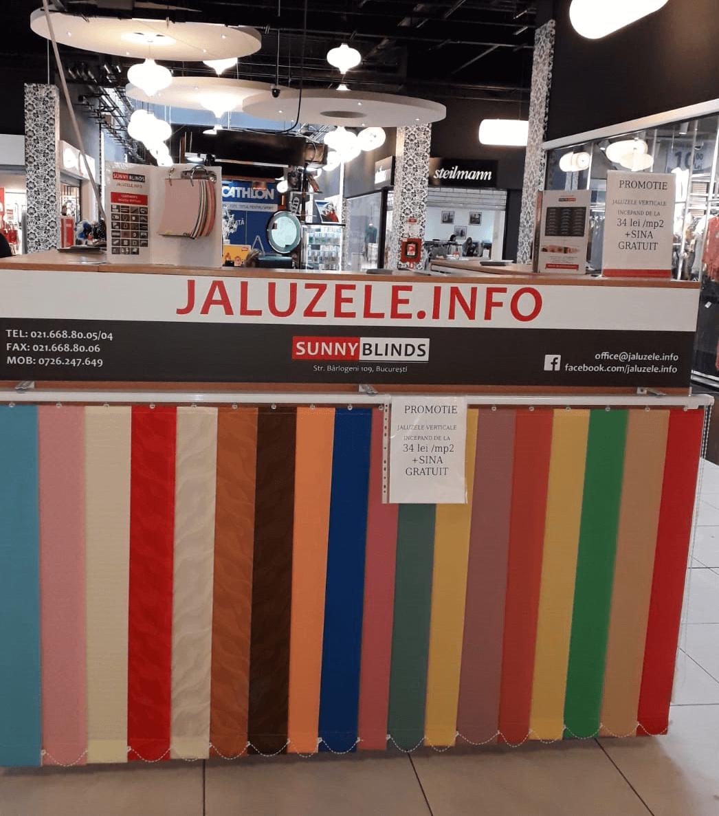 Auchan Bacau   Jaluzele verticale, romane, rolete
