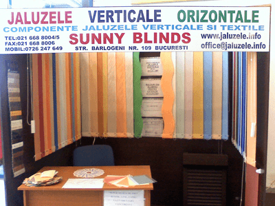 Praktiker Bucuresti Voluntari  Jaluzele verticale, romane, rolete